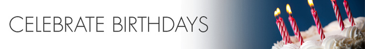 Shop Our Birthday Selections