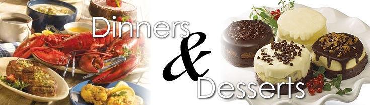 Dinners & Desserts