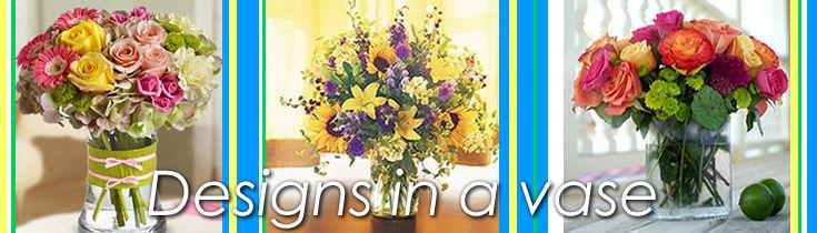 Designs in a vase