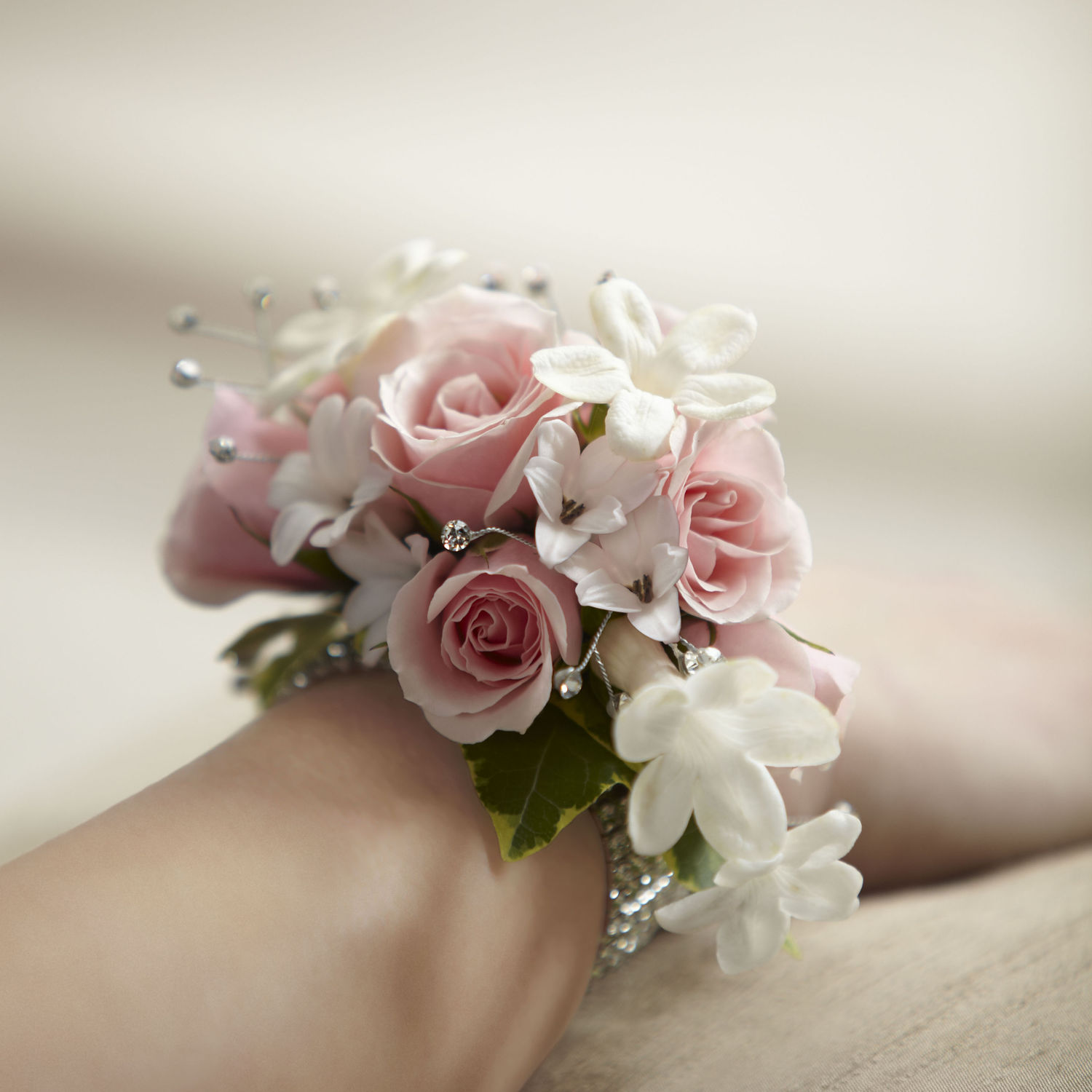 Wrist Corsage: Prom Flowers Wrist Corsage