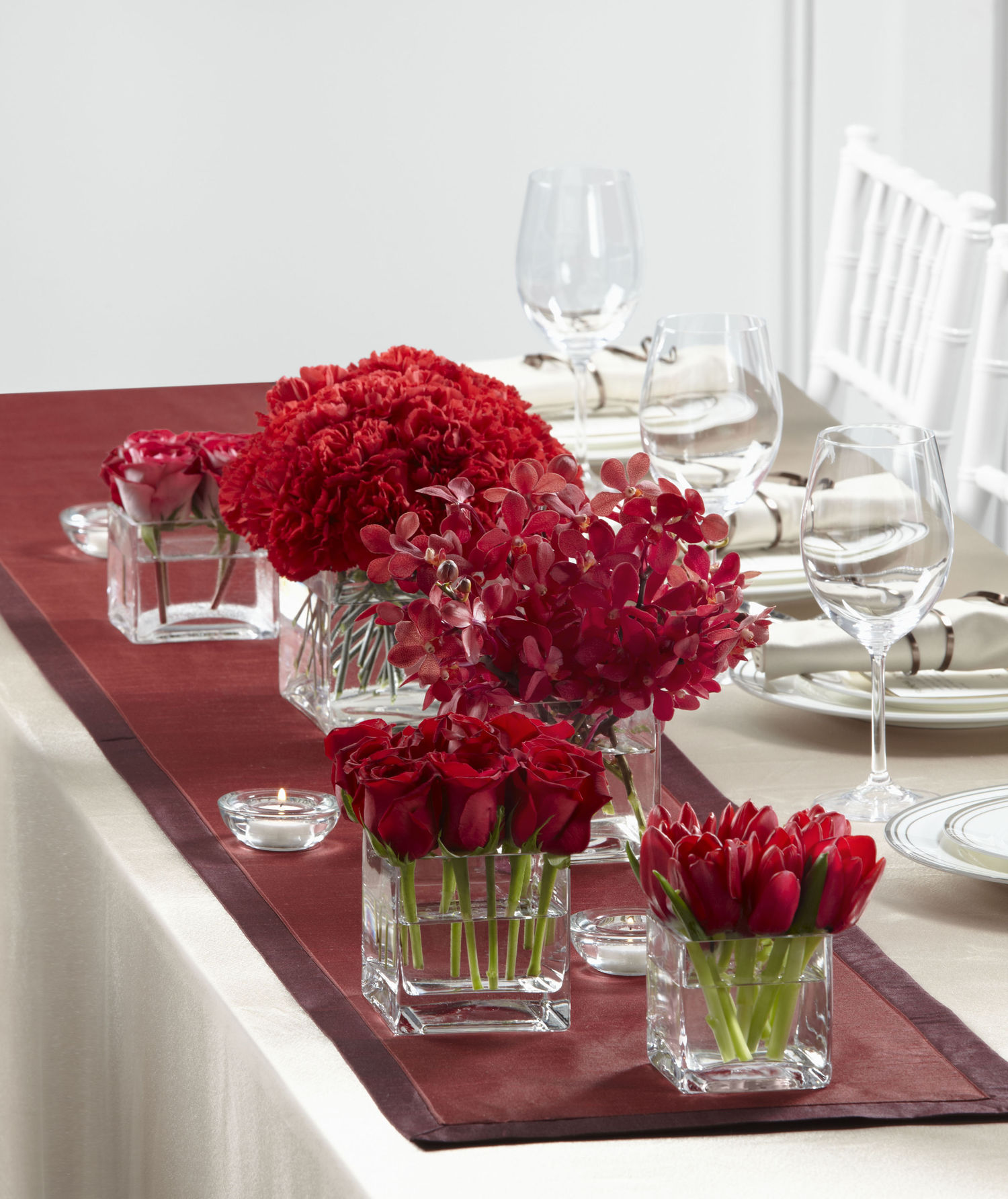 Reception centerpieces for Contemporary table centerpieces